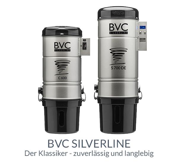 Zentralstaubsauger BVC Silverline - zuverlässig und langlebig