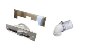 Kehrfix Einkehrdüse zur Schnellreinigung Edelstahl-Design