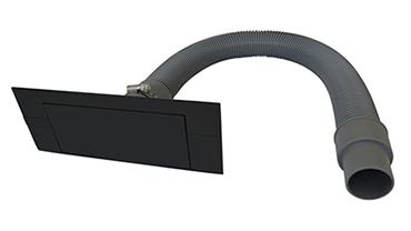 KitVac Dustpan Set black