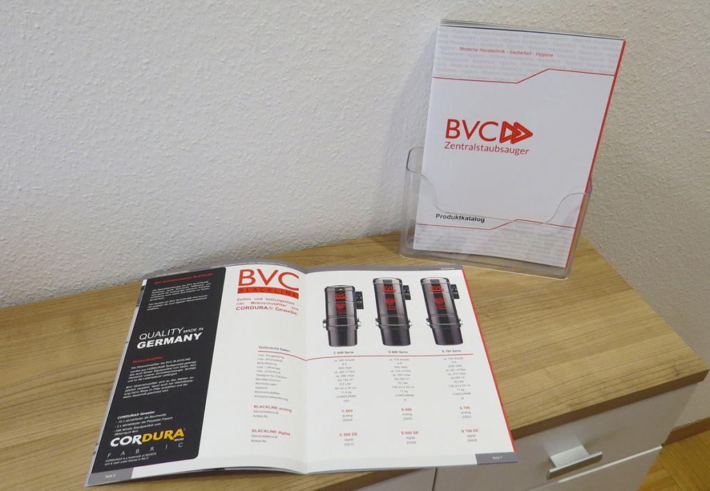 Frisch eingetroffen - Der neue BVC Produktkatalog 1