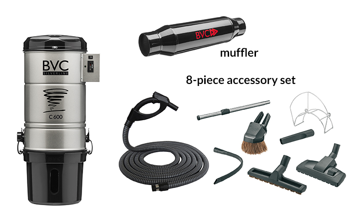Central Vacuum Packages 1