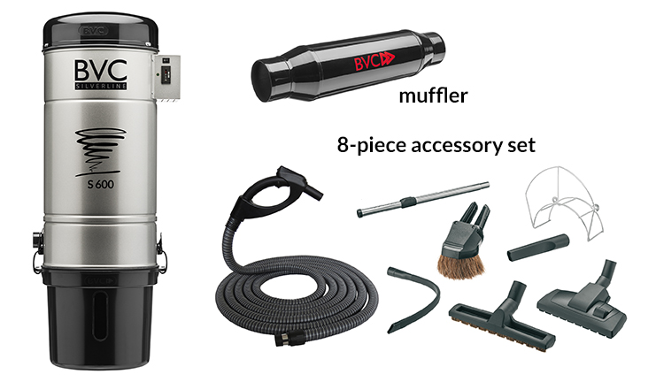 Central Vacuum Packages 2