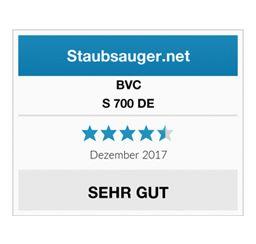 """BVC S 700 DE Blackline erhält das Testurteil """"sehr gut"""" 9"""
