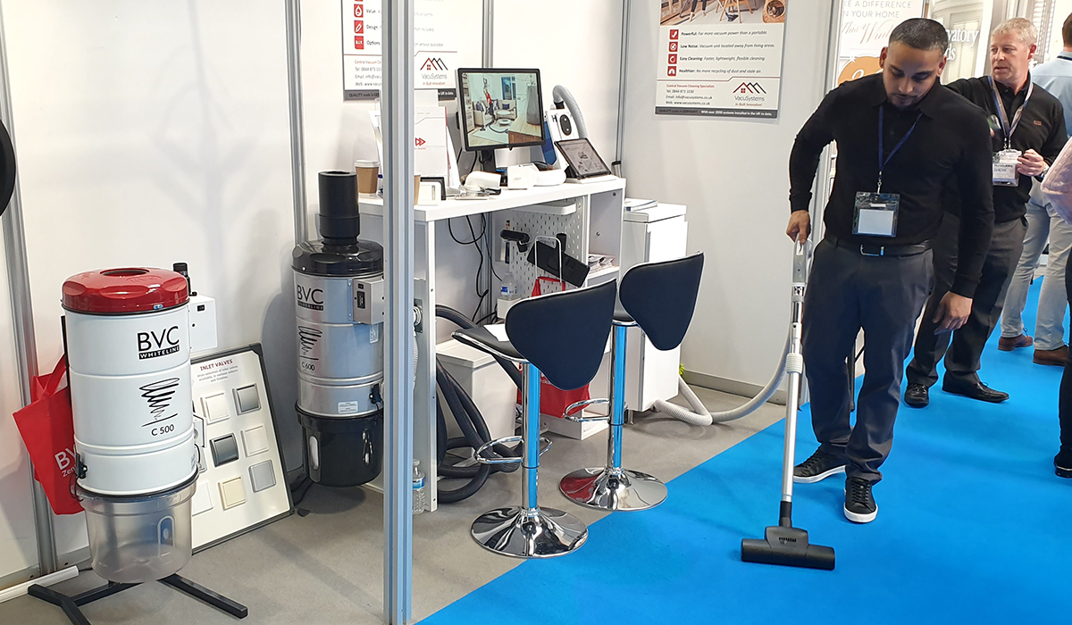 BVC Partner VacuSystems exhibit at the Home Building & Renovating show in Birmingham 3
