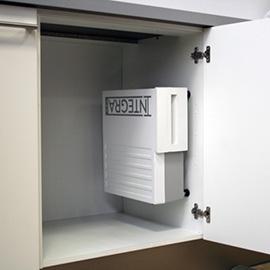 Integravac im Küchenschrank