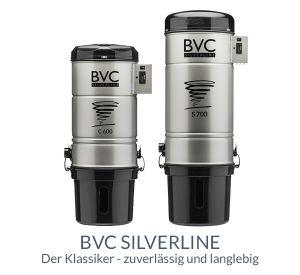 BVC Zentralstaubsauger Silverline