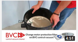 change motor protection filter BVC