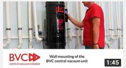 wall mounting BVC unit