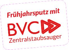 Frühjahrsputz mit dem BVC Zentralstaubsauger